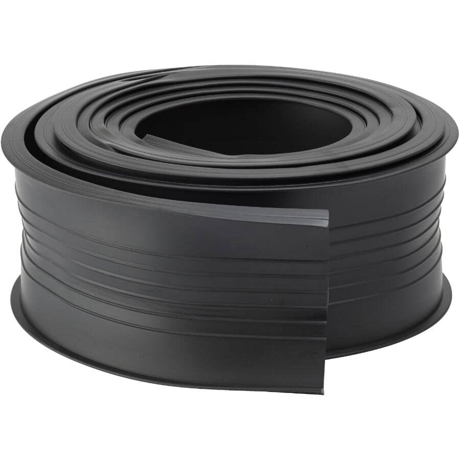 CLIMALOC:9' Black Vinyl Replacement Garage Door Weatherstripping