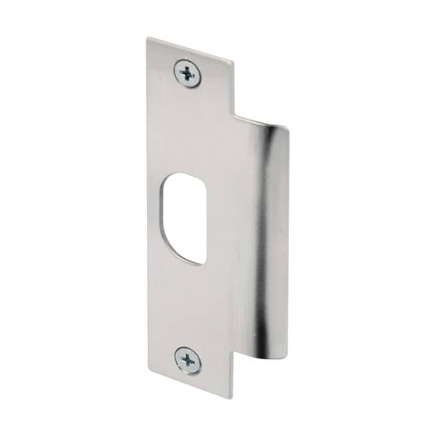 DEFENDER SECURITY:Stainless Steel ASA Commercial Jamb Strike