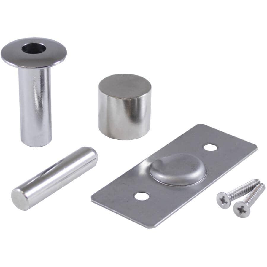 ONWARD:Chrome Flush-Mounted Magnetic Door Stop