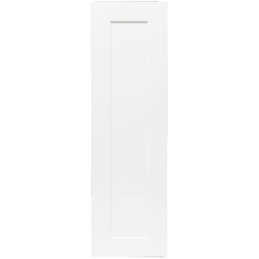"CABINETSMITH:Huntsville Left-Hand Door Assembled Upper Cabinet - White, 9"" x 30"""