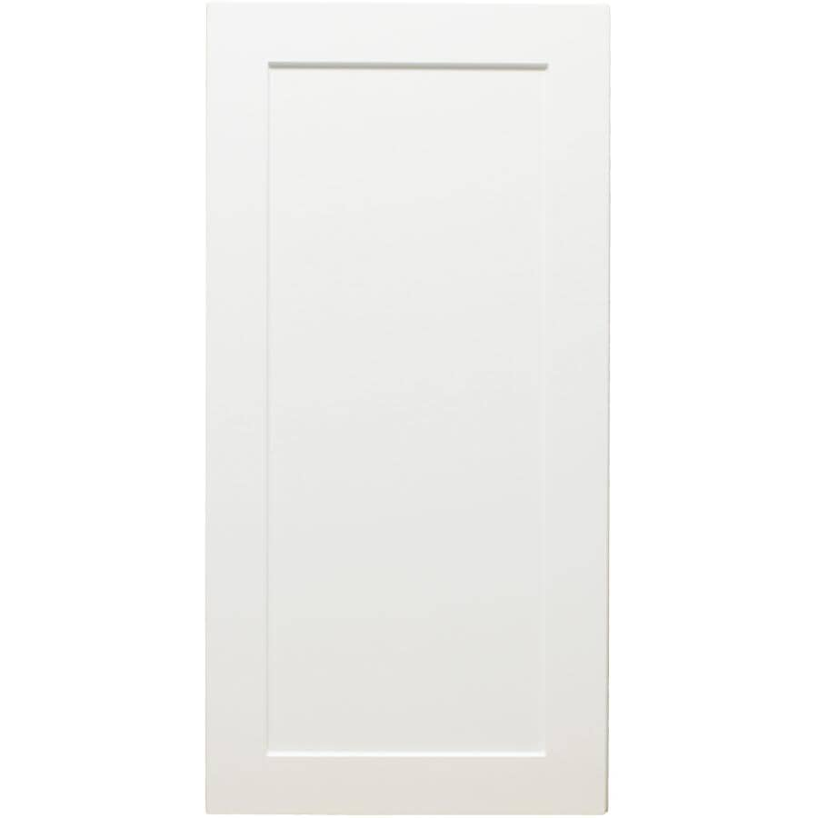 "CABINETSMITH:Huntsville Left-Hand Door Assembled Upper Cabinet - White, 15"" x 30"""