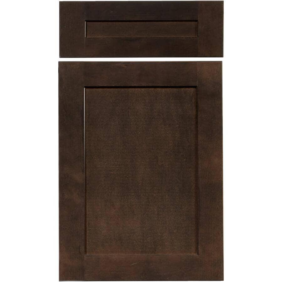 CUTLER KITCHEN & BATH:1 Porte et 1 Façade de tiroir pour armoire Midnight de 18 po