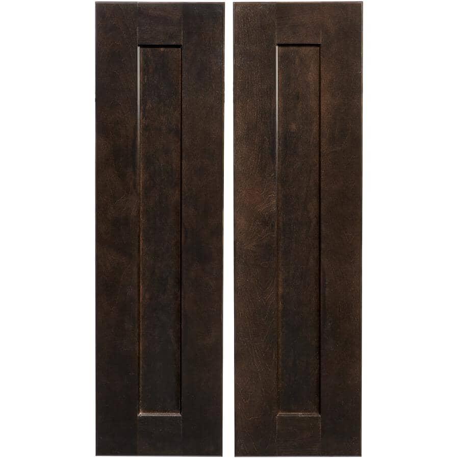 CUTLER KITCHEN & BATH:2 Portes pour armoire de plancher de coin Midnight de 33 po