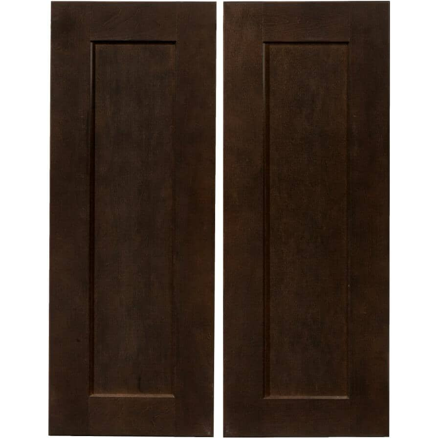 CUTLER KITCHEN & BATH:2 Portes pour armoire de plancher de coin Midnight de 36 po