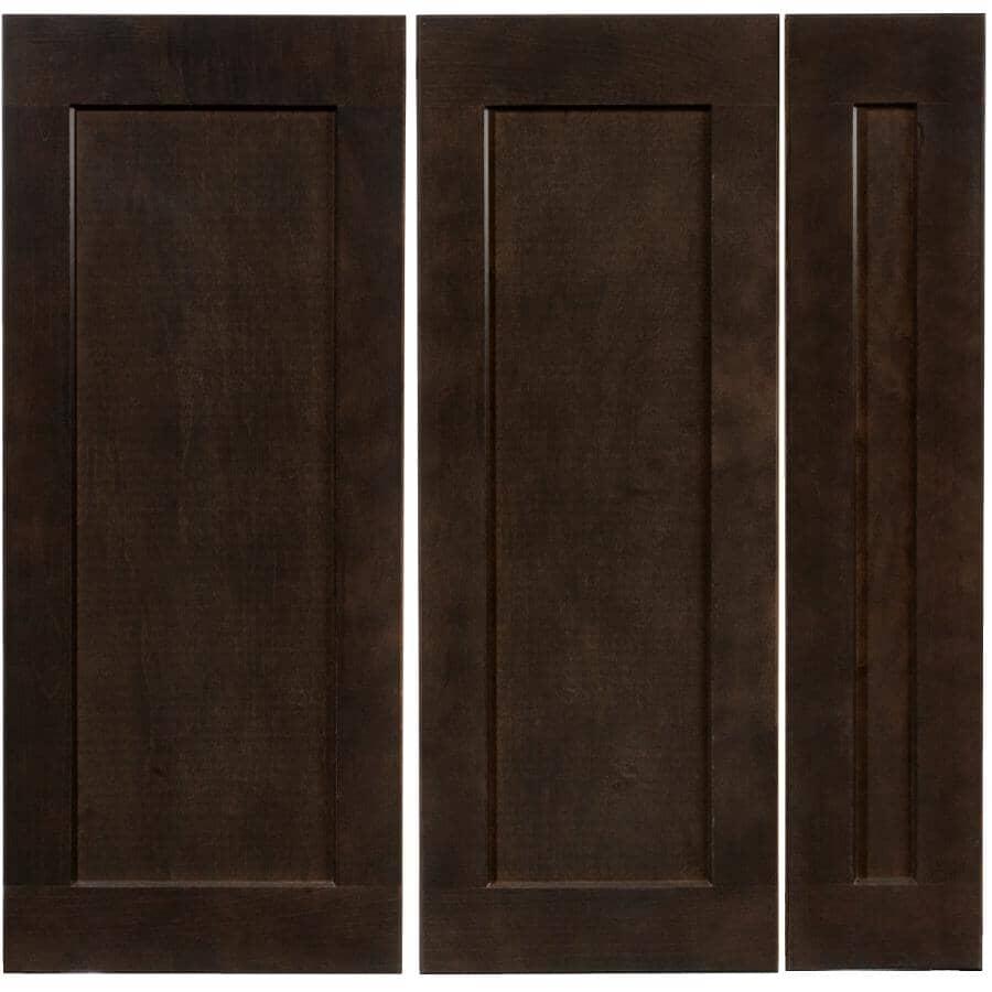 CUTLER KITCHEN & BATH:3 Façades de tiroir pour armoire Midnight de 30 po