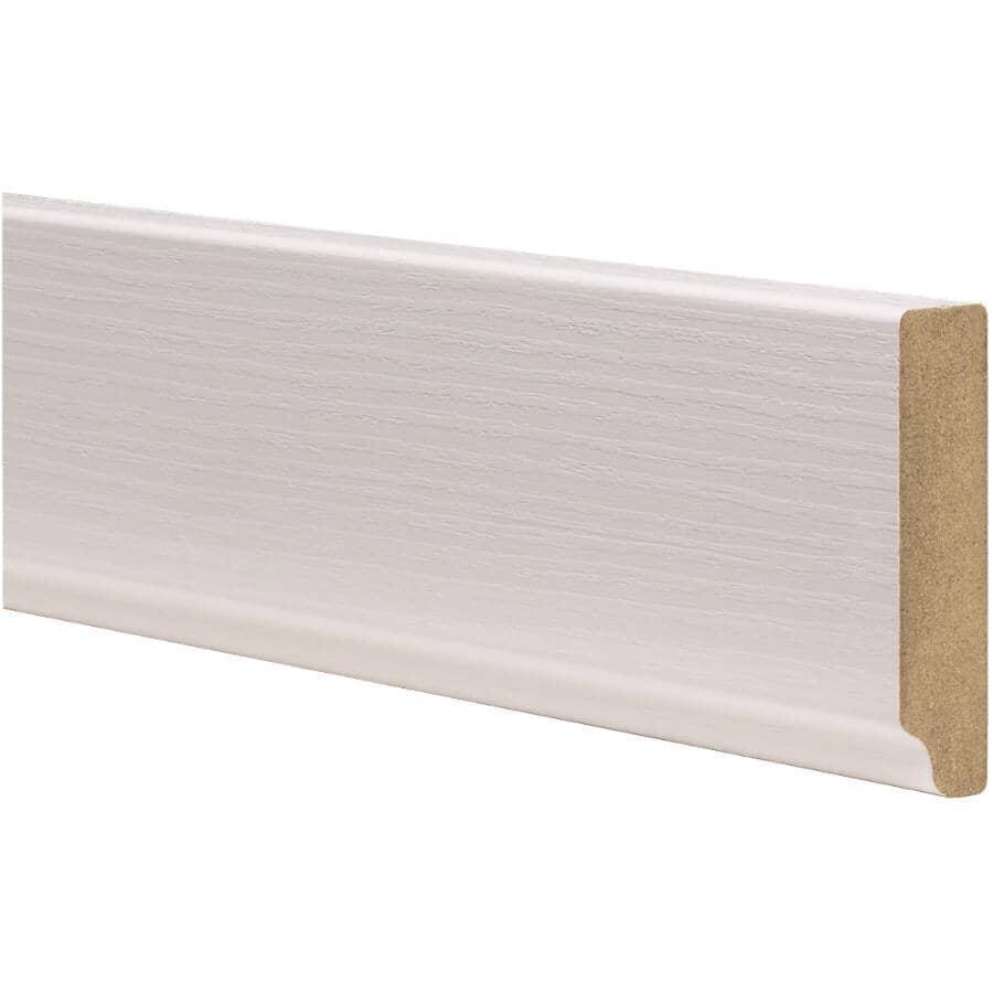 "CUTLER KITCHEN & BATH:Veneer Light Railing - White, 108"""