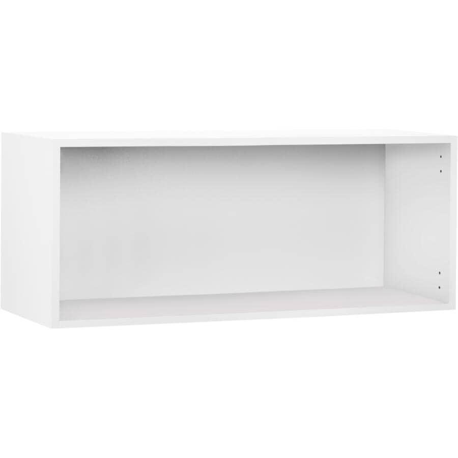 "CUTLER KITCHEN & BATH:Knockdown Wall Bridge Cabinet - White, 36"" x 12"" x 15"""