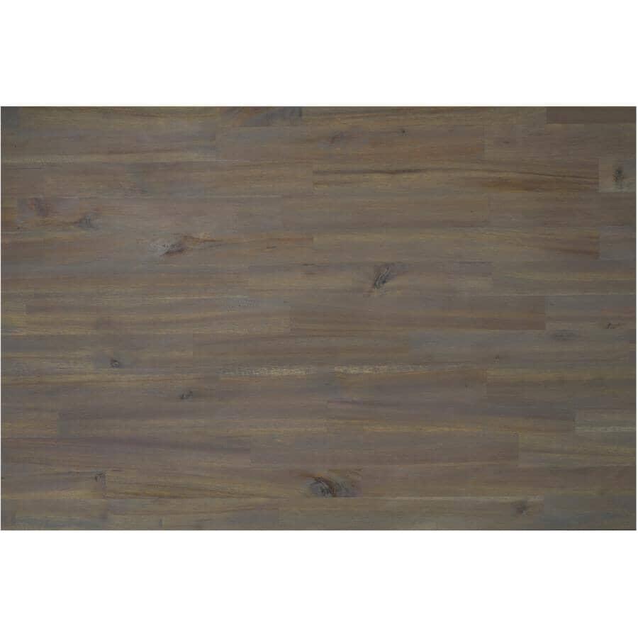 "INTERBUILD:Acacia Wood Countertop - Dusk Grey, 72"" x 25.5"" x 1.5"""