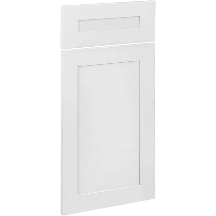 "CUTLER KITCHEN & BATH:1 Door and 1 Drawer Front for 15"" Lindsay Cabinet"