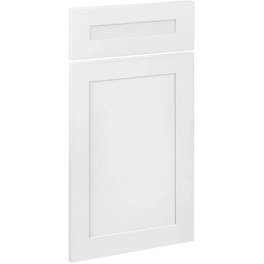 "CUTLER KITCHEN & BATH:1 Door and 1 Drawer Front for 18"" Lindsay Cabinet"