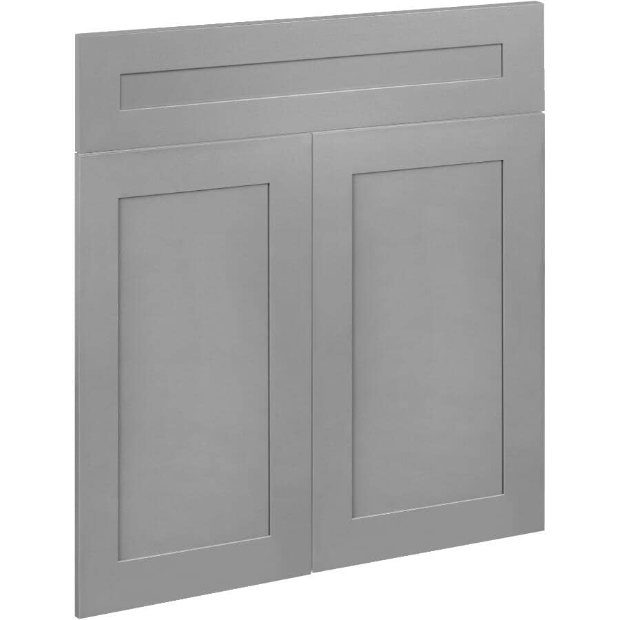 """CUTLER KITCHEN & BATH:2 Doors and 1 Drawer Front for 24"""" Cambridge Cabinet"""