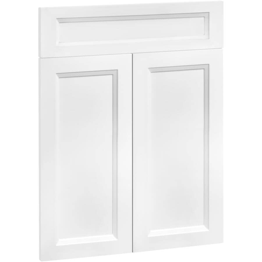 """CUTLER KITCHEN & BATH:2 Doors and 1 Drawer Front for 24"""" Victoria Cabinet"""