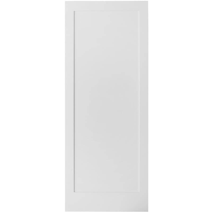 "COLONIAL ELEGANCE:Pure White Barn Door - 33"" x 84"""