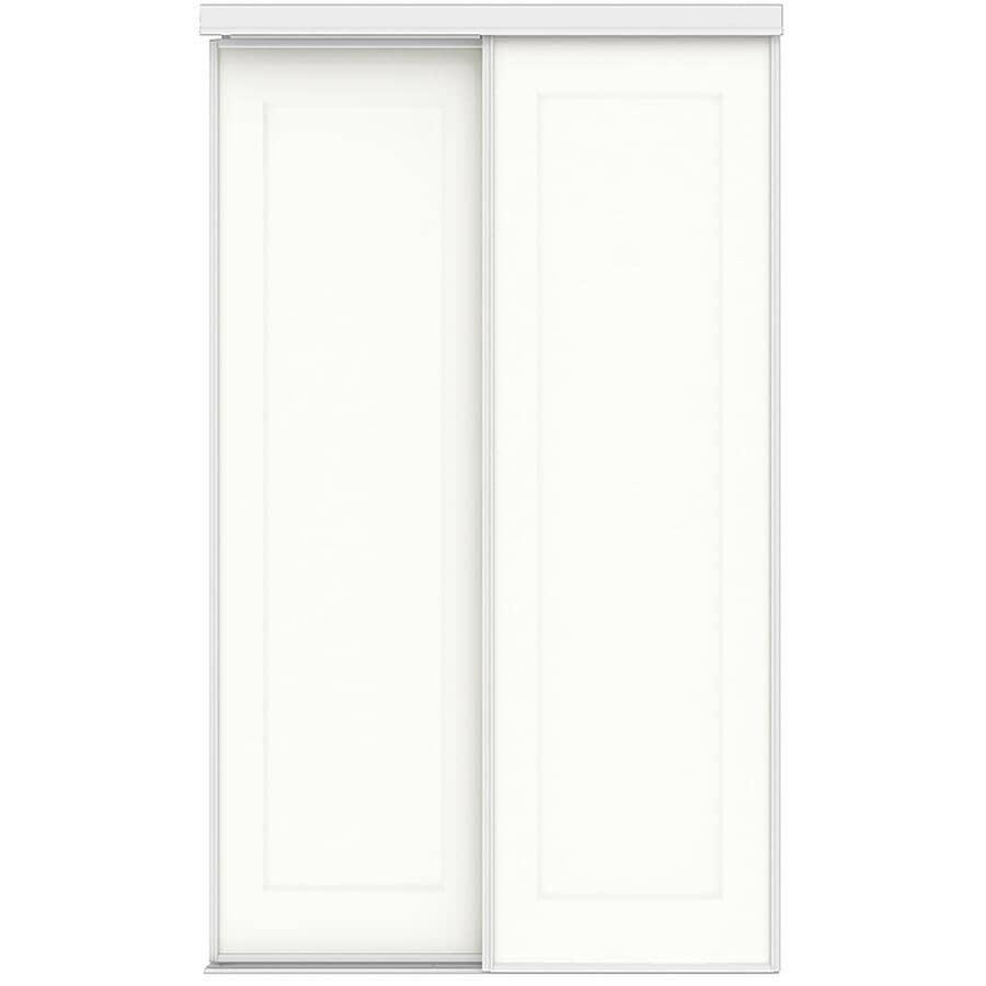 "COLONIAL ELEGANCE:Times Square Sliding Closet Doors - White, 60"" x 80"""
