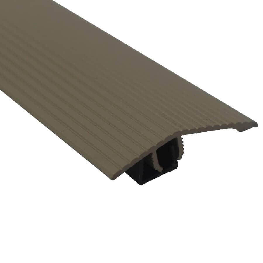 MD BUILDING PRODUCTS:Moulure de réduction de transition beige pour plancher, 1-3/4 x 36 po