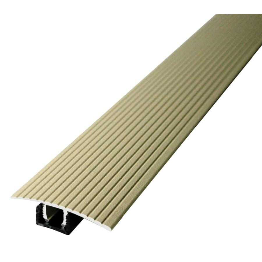 MD BUILDING PRODUCTS:Moulure en T pour plancher stratifié beige, 1-3/4 po x 36 po