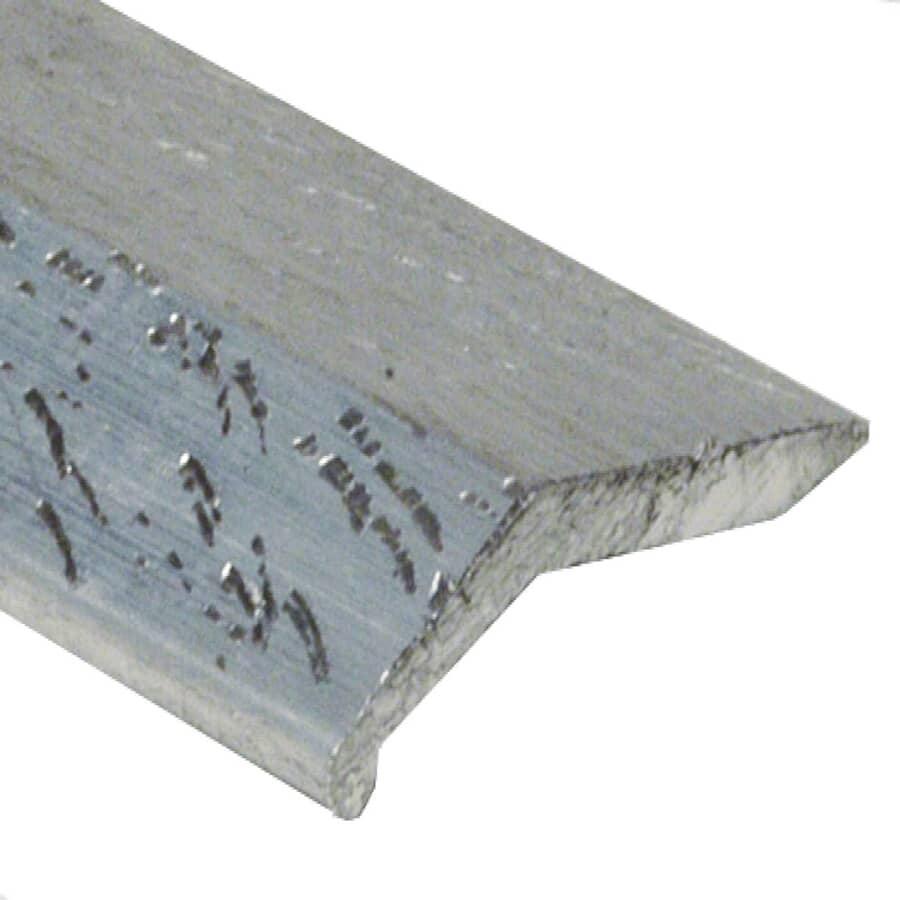 "SHUR-TRIM:1"" x 3' Hammered Silver Equalizer Edging"