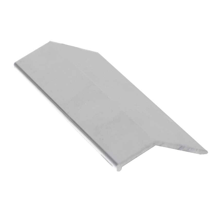 "SHUR-TRIM:1-1/2"" x 6' Polished Silver Equalizer Edging"