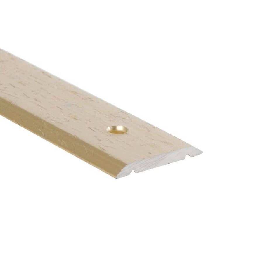 "SHUR-TRIM:1"" x 6' Hammered Gold Seambinder Edging"