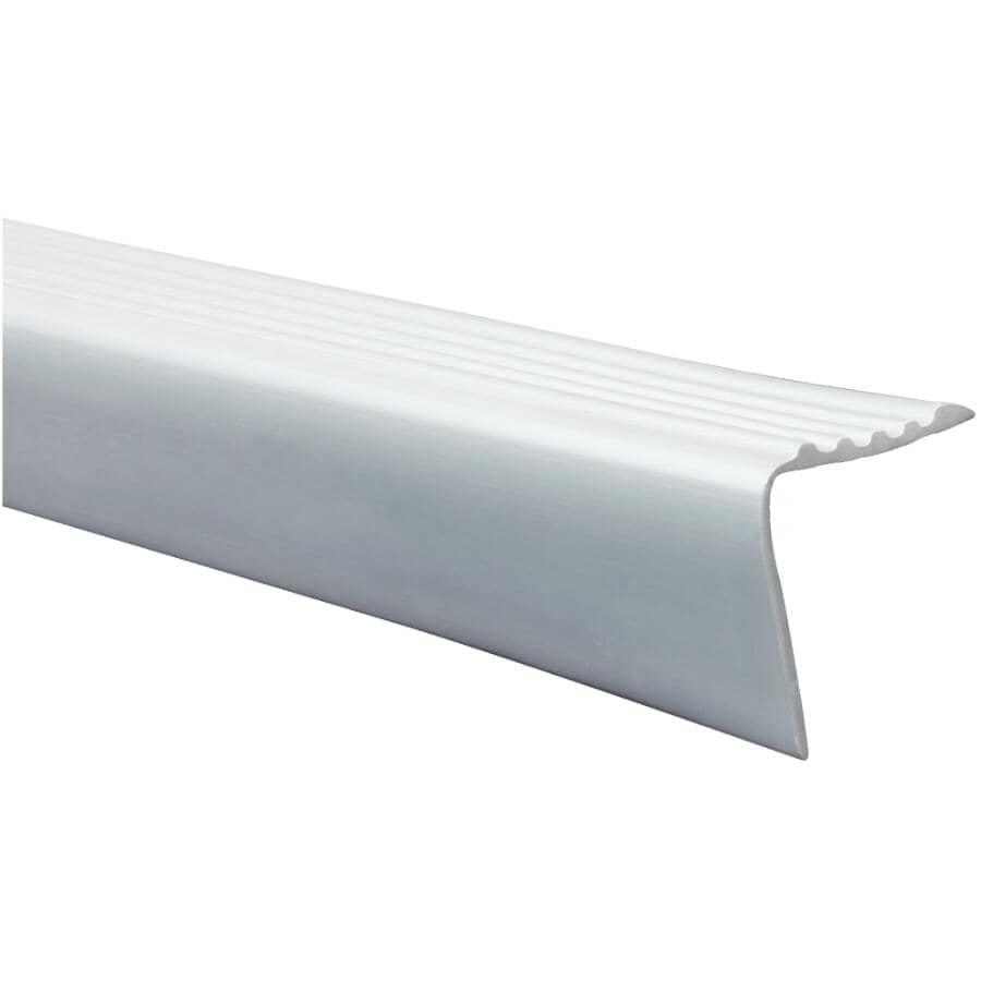 SHUR-TRIM:3' Grey Stair Nose Moulding