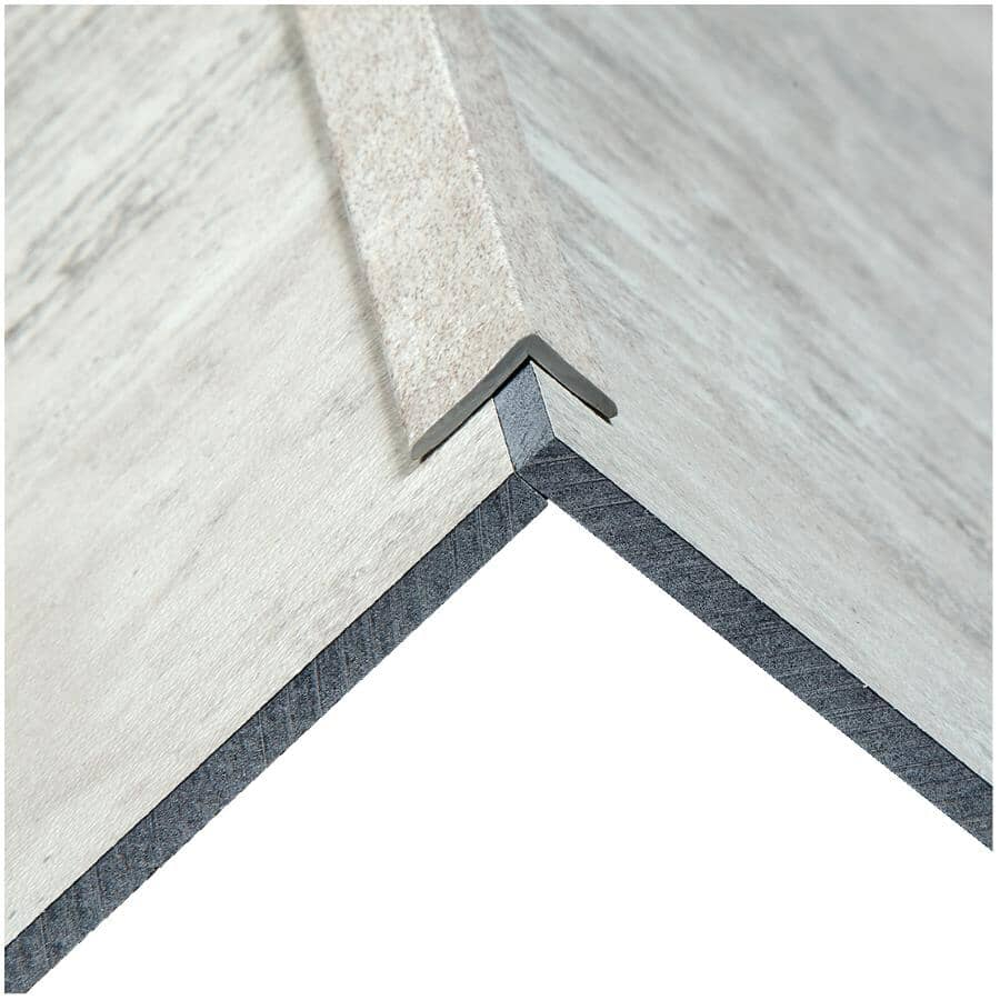 """ACOUSTIC CEILING PRODUCTS:Palisade Collection PVC L-Trim Edging - Wind Gust, 94"""""""
