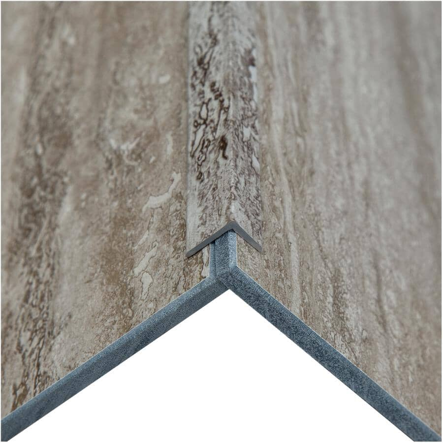 """ACOUSTIC CEILING PRODUCTS:Palisade Collection PVC L-Trim Edging - Grecian Earth, 94"""""""