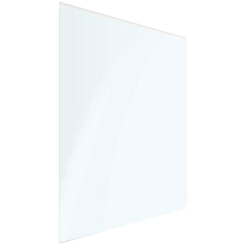"""REGAL IDEAS:30"""" x 40"""" x 10mm Crystal Rail Tempered Glass"""