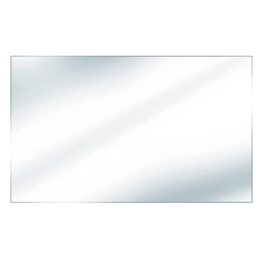 "REGAL IDEAS:35-7/8"" x 48"" x 6mm Tempered Glass, for Aluminum Railing"