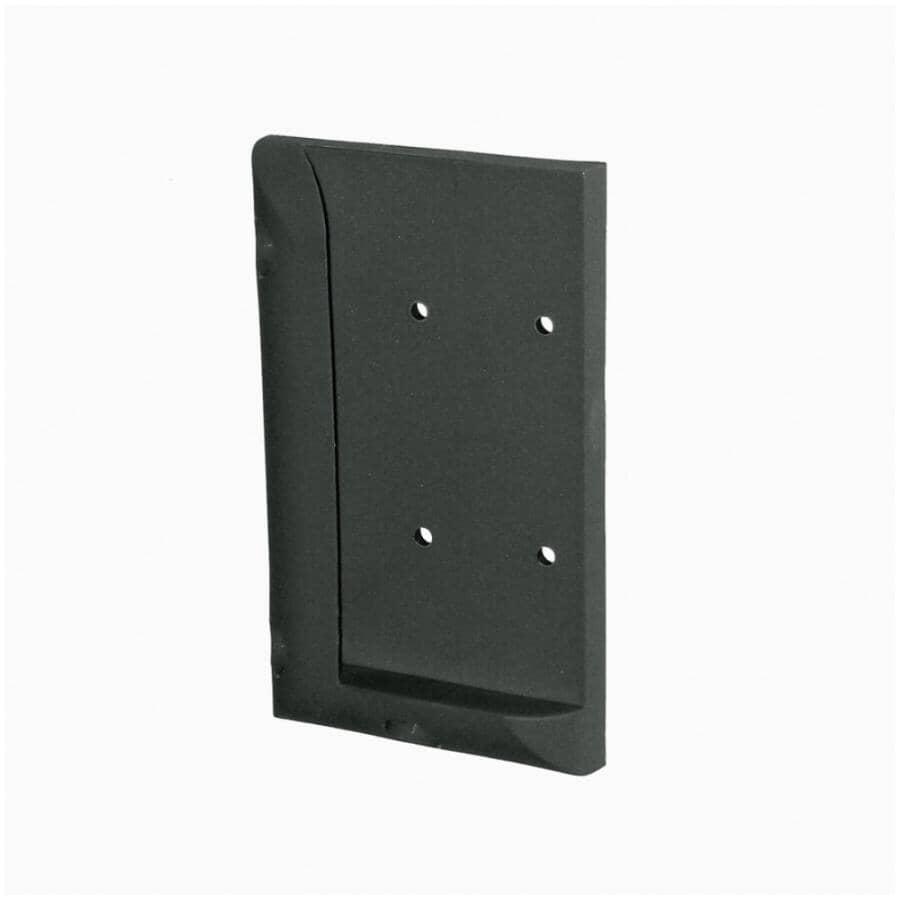 DECKORATORS:2 Pack Black 2 x 4 Angle Railing Connectors