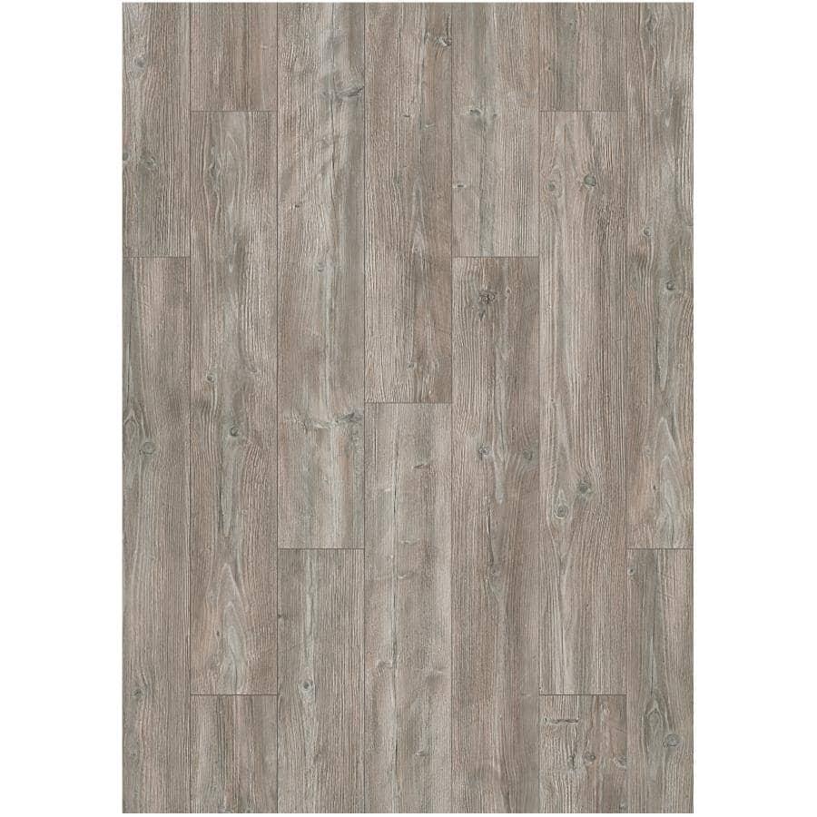 "GOODFELLOW:Dreamfloor Classic Collection 4.84"" x 50.5"" Laminate Plank Flooring - Storm Grey, 13.61 sq. ft."