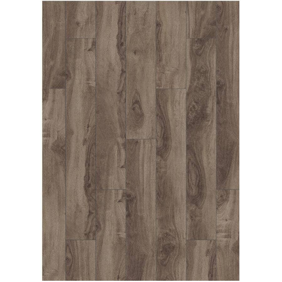 "GOODFELLOW:Dreamfloor Classic Collection 4.84"" x 50.5"" Laminate Plank Flooring - Midnight Walnut, 13.61 sq. ft."