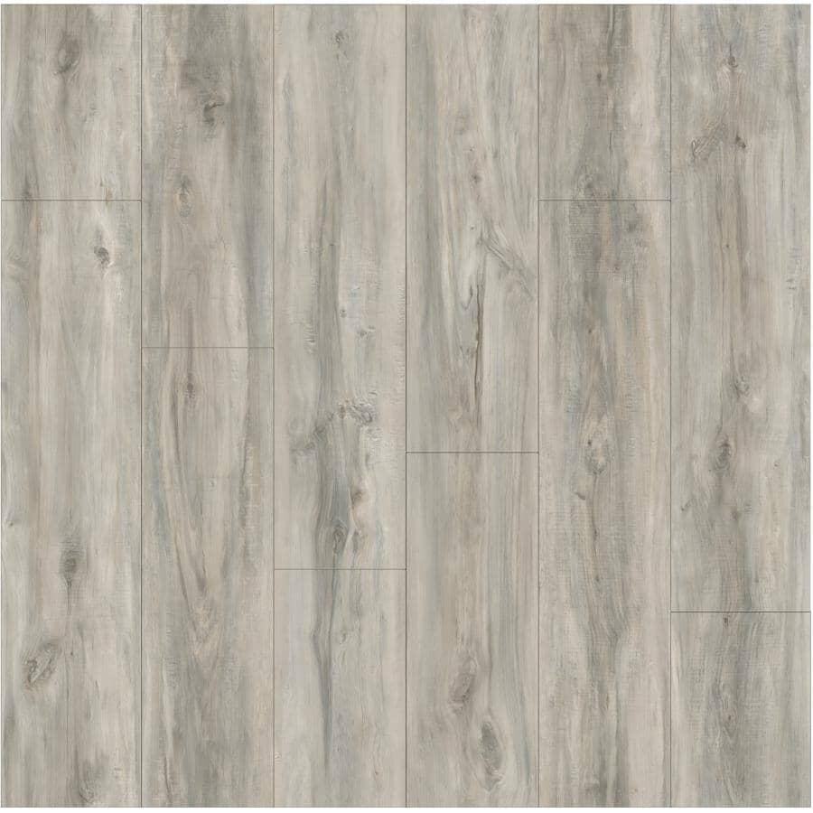 """GOODFELLOW:HydraSafe Collection 7.68"""" x 47.83"""" Water-Resistant Laminate Plank Flooring - Arctic, 15.3 sq. ft."""