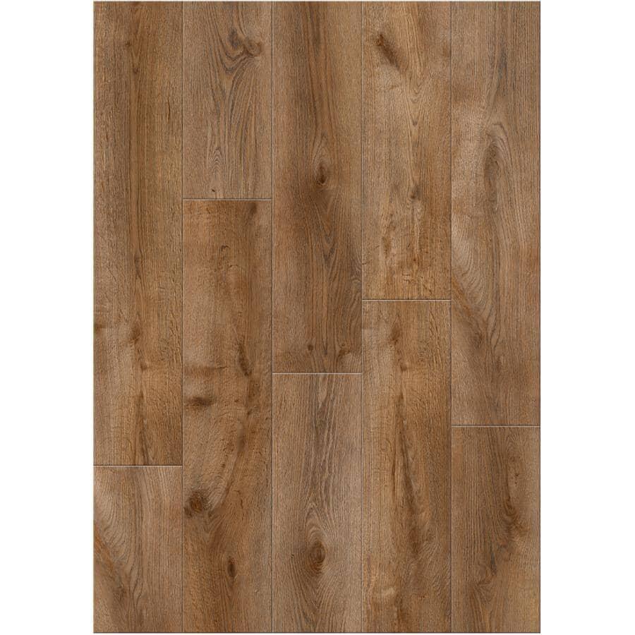 "GOODFELLOW:HydraSafe Collection 7.68"" x 47.83"" Water-Resistant Laminate Plank Flooring - Mediterranean, 15.3 sq. ft."