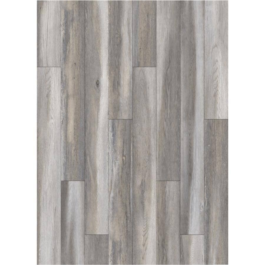 """GOODFELLOW:HydraSafe Collection 7.68"""" x 47.83"""" Water-Resistant Laminate Plank Flooring - Caribbean, 15.3 sq. ft."""