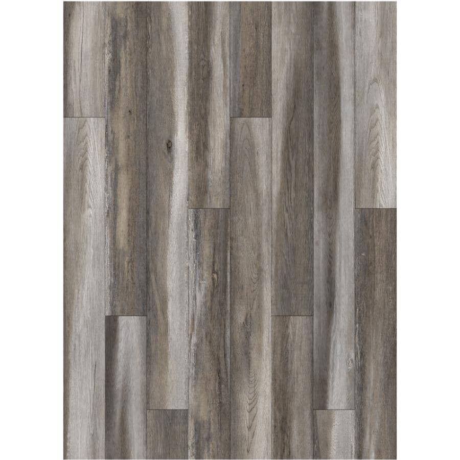 """GOODFELLOW:HydraSafe Collection 7.68"""" x 47.83"""" Water-Resistant Laminate Plank Flooring - Seven Seas, 15.3 sq. ft."""