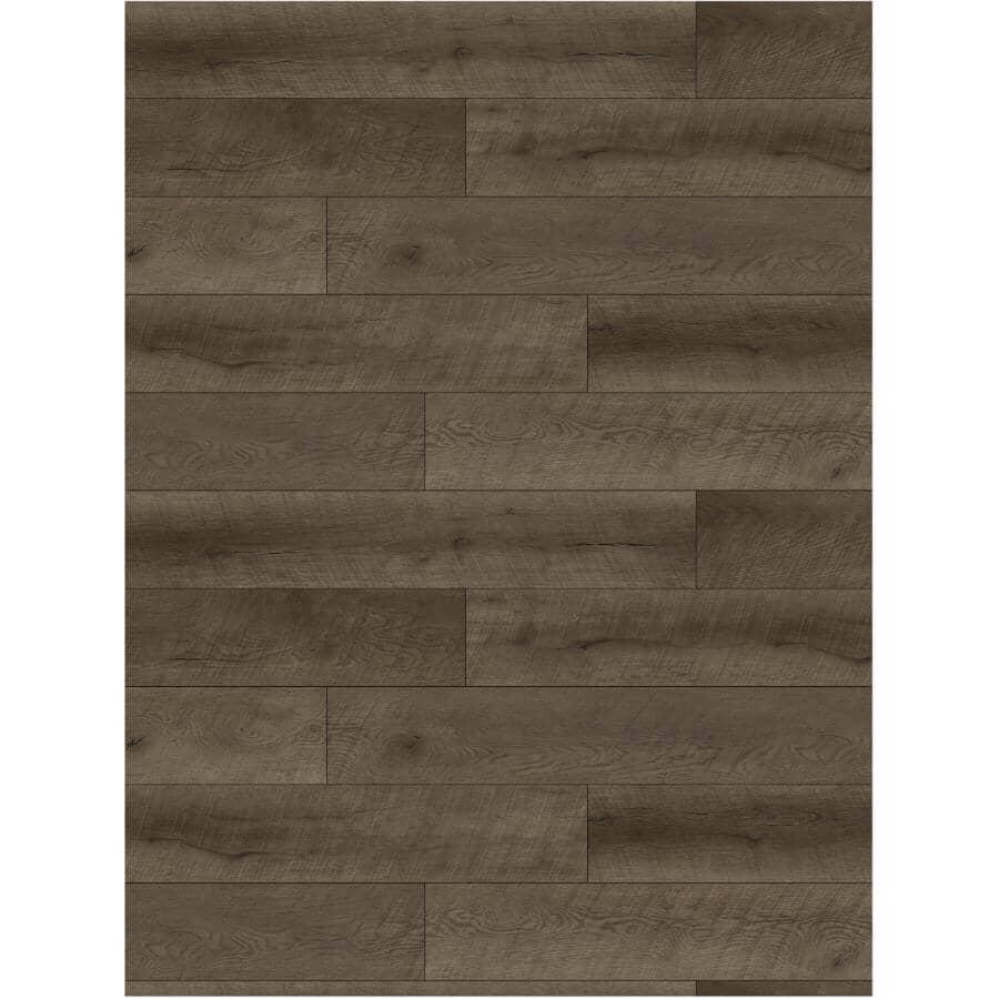 "SHNIER:23.64 sq. ft. 7"" x 48"" Acorn Touchstone SPC Plank Flooring"