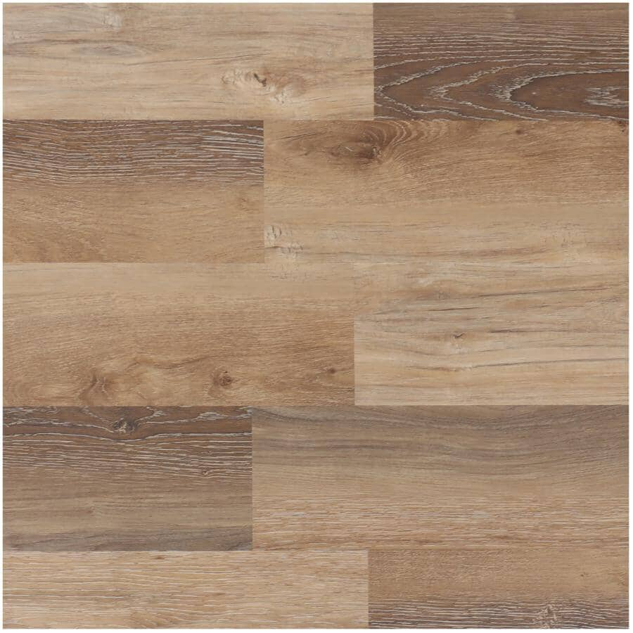 """TAIGA BUILDING PRODUCTS:EasyStreet Collection 6"""" x 48"""" SPC Plank Flooring - Cheyenne, 19.7 sq. ft."""