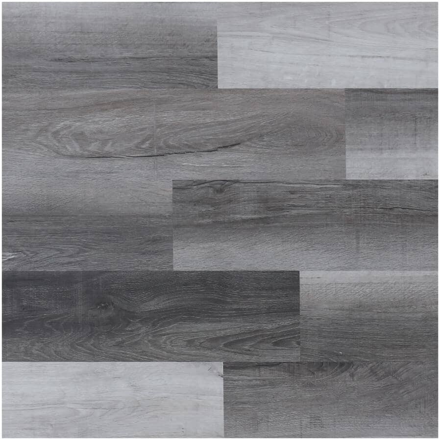 """TAIGA BUILDING PRODUCTS:EasyStreet Collection 6"""" x 48"""" SPC Plank Flooring - Decanter, 19.7 sq. ft."""