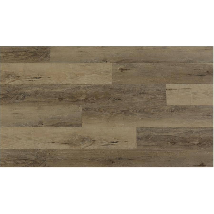 """TAIGA BUILDING PRODUCTS:EasyStreet Collection 6"""" x 48"""" SPC Plank Flooring - Quinoa, 19.7 sq. ft."""