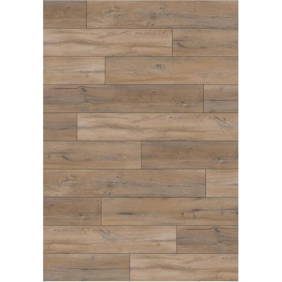 "GOODFELLOW:Dubai Collection 5.38"" x 48"" SPC Plank Flooring - Sunset 23.31 sq. ft."