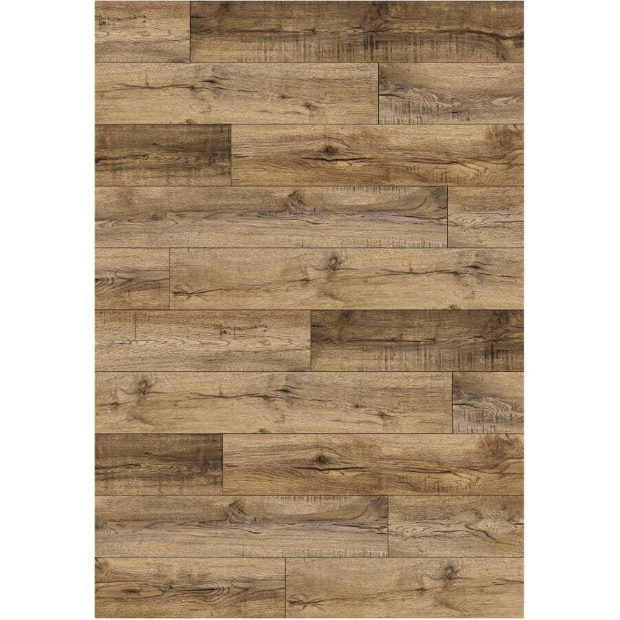 "GOODFELLOW:Dubai Collection 5.38"" x 48"" SPC Plank Flooring - Honopu 23.31 sq. ft."