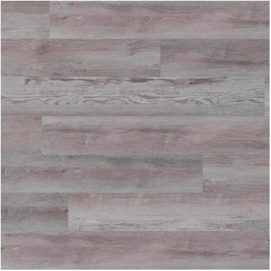"AQUAWOOD:2.0 Collection 6"" x 48"" SPC Plank Flooring - Driftwood, 21.96 sq. ft."