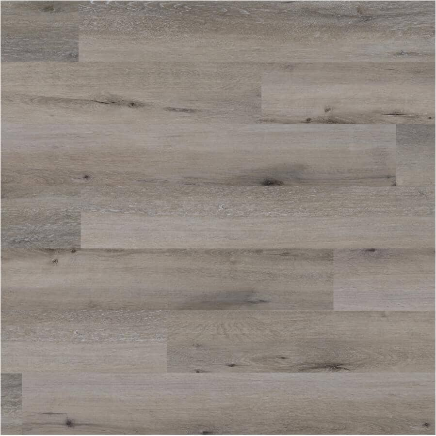 """AQUAWOOD:2.0 Collection 6"""" x 48"""" SPC Plank Flooring - Weathered Oak, 21.96 sq. ft."""