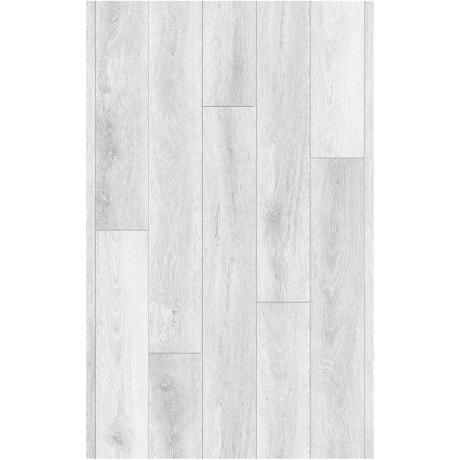 "SCOTT MCGILLIVRAY:Scott McGillivray Collection 7"" x 48"" SPC Plank Flooring - with Attached Pad, Moraine, 23.64 sq. ft."