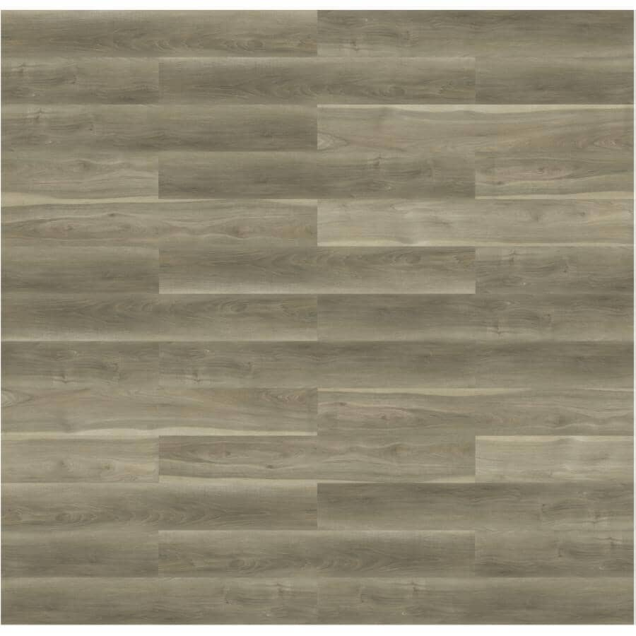 """TAIGA BUILDING PRODUCTS:NinjaXtra Collection 7"""" x 48"""" Tatami SPC Plank Flooring - with Attached IXPE Pad, 23.9 sq. ft."""