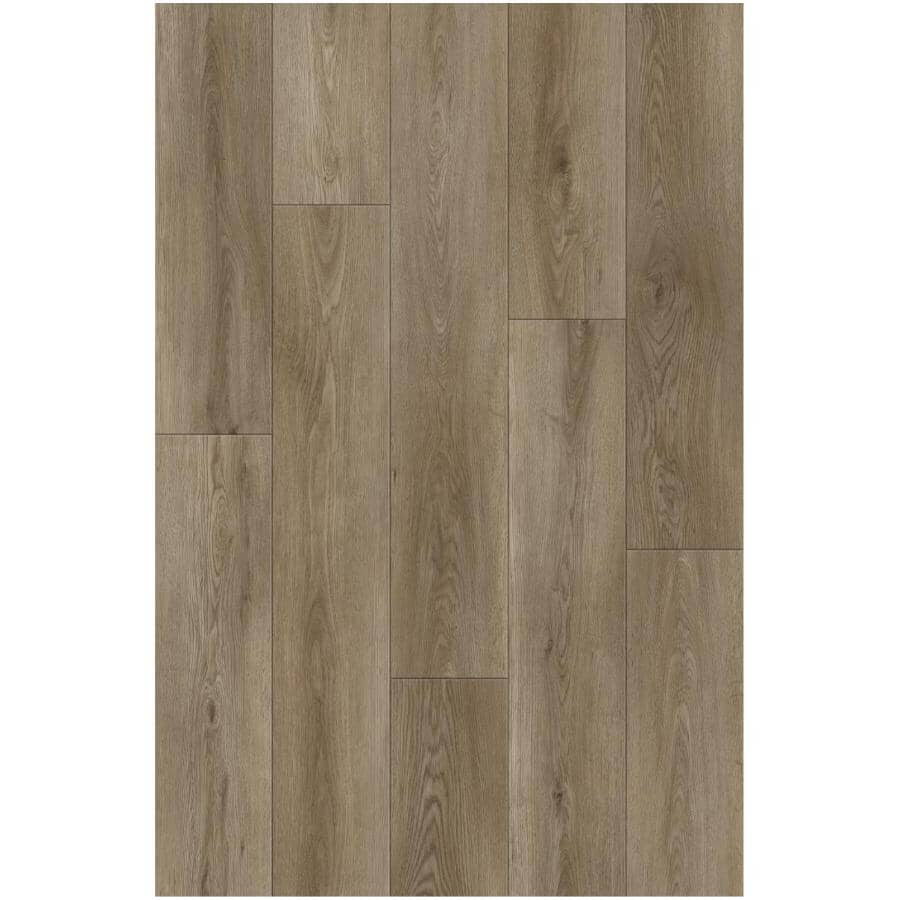 """TAIGA BUILDING PRODUCTS:Haven Collection 7"""" x 48"""" SPC Flooring  - Travis, 28.68 sq. ft."""