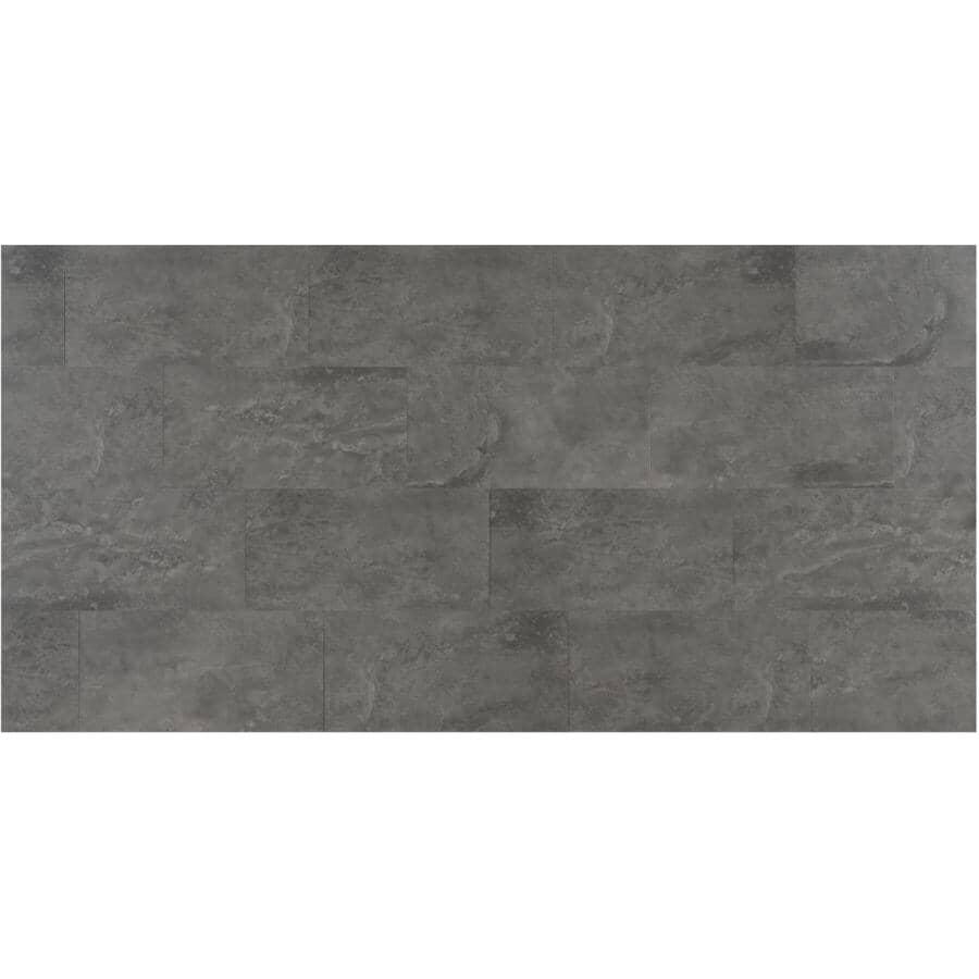 "GOODFELLOW:34.05 sq. ft. 12"" x 24"" Bagana Volcanic SPC Tile Flooring"
