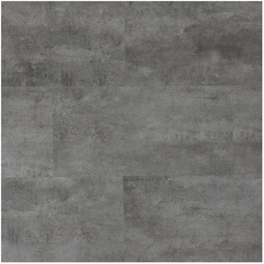 """TAIGA BUILDING PRODUCTS:EasyStreet Collection 12"""" x 24"""" Glow Up SPC Tile Flooring - Hilo, 23.24 sq. ft."""
