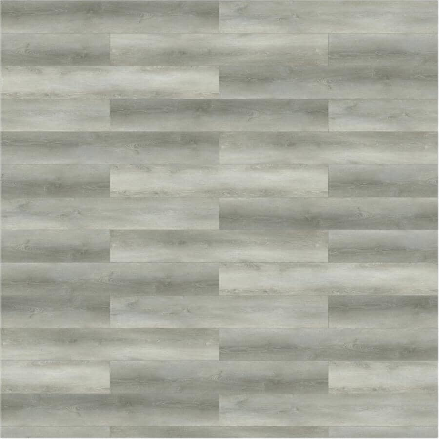 """TAIGA BUILDING PRODUCTS:Curate Collection 9"""" x 60"""" SPC Plank Flooring - Chelsea, 22.54 sq. ft."""