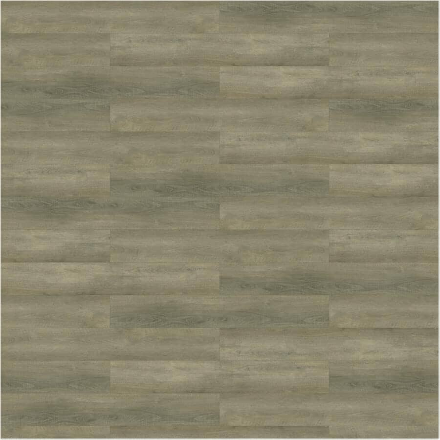 """TAIGA BUILDING PRODUCTS:Curate Collection 9"""" x 60"""" SPC Plank Flooring - Chiseled, 22.54 sq. ft."""